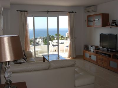 Mijas Costa apartment rental - Lounge