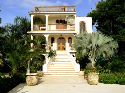 Rincon villa rental - The Luxurious & Private Main House at Caracol Che, Tropical Estate.