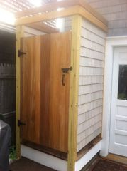 Provincetown cottage photo - Brand New Outdoor Shower.