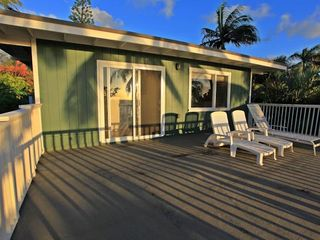 Haleiwa house photo - Upper Sun deck off Hallway
