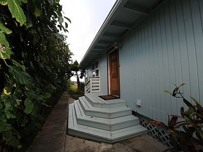 Laie house rental - Private and serene the home is surrounded by mature landscaping
