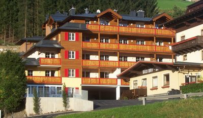 Luxury apartment Iglsberg in Saalbach for eight people.