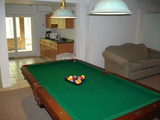 Massanutten house photo - Pool Table