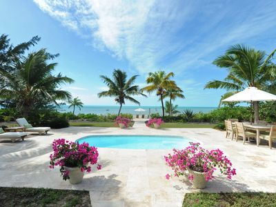 'On-A-Whymm' - Designer Beachfront Villa with Private Pool and Boat