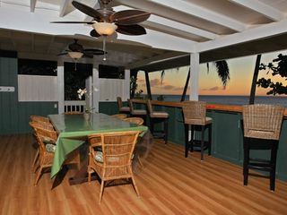 Haleiwa house photo - Covered Lanai perfect for watching Sunset