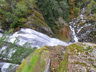 Coos Bay house photo - Top of Golden Falls, the best picnic spot in the county