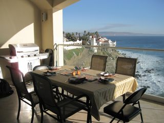 Rosarito Beach condo photo - Dine on the Terace... Breakfast, Lunch & Dinner
