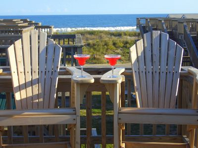 Relaxing cheerful oceanfront perfect for 2 vrbo for Hatteras cabins rentals