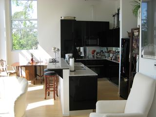 kitchen view - Houston condo vacation rental photo
