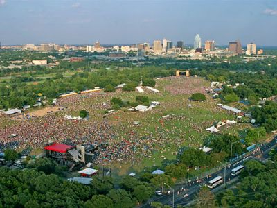 Walking distance to Zilker Park, site of ACL Music Fest