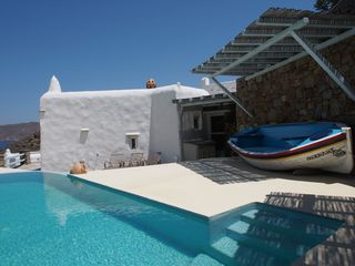 Mykonos villa photo - your private pool - stunning views