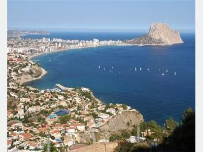 Calpe towards the Penon