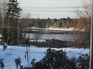 Ellsworth house photo - river in the winter