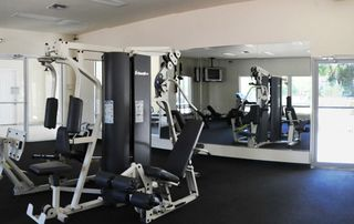 Sun Lake condo photo - Fitness center inside clubhouse