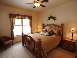 Estes Park condo photo - Large master bedroom with king size bed (in each 3 bedroom condo)