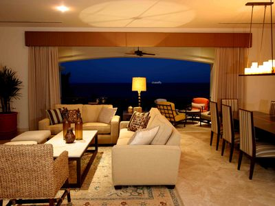 Abundant seating with ocean views