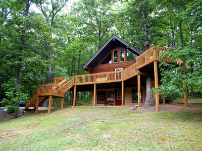 Berkeley Springs chalet rental - Front View