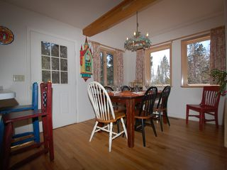 Wilson house photo - 6 Person Dining Area plus 2 Bar Seats - 6 Person Dining Area plus 2 Bar Seats