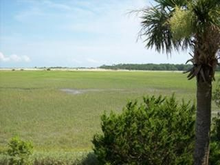 Harbor Island house photo - View of ocean, marsh, and Hunting Island from back decks