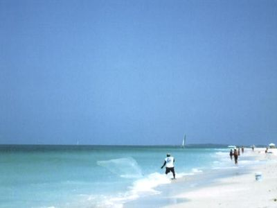The White Sand and Surf of Clearwater Beach