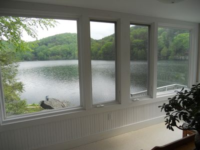 Sherman cottage rental - Guest room view