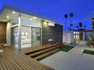 Palm Springs house photo - Detached Casita with IPE wood decking