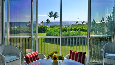 Enjoy beautiful bay views from much of the house.