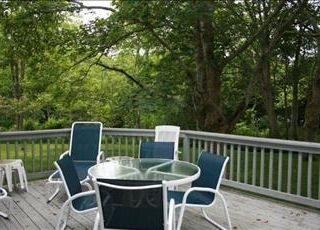 East Orleans house photo - Relax and Dine outside.