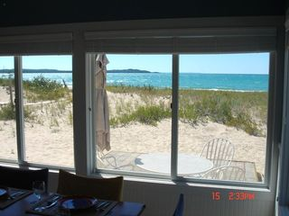 Northport house photo - Perfect Beach - Huge Dunes Behind!