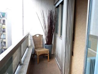8th Arrondissement Champs Elysees apartment photo - Balcony with a view to 18th century buildings or the gardens below.