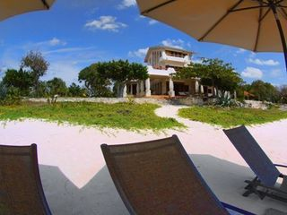 Isla Mujeres estate photo - View from umbrellas