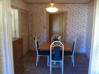 Separate breakfast room