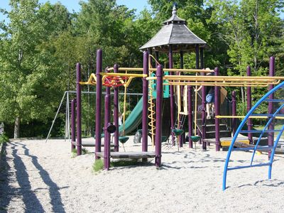 Little ones love the nearby playground - just a beautiful country stroll away!