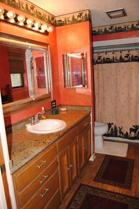 Milam house rental - Master Bathroom