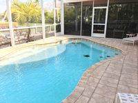 Gulf Access, Screened Heated Pool, White Sandy Beach = Perfect Vacation Home!
