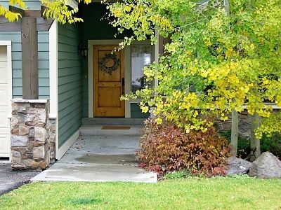 Front entry in the fall :)