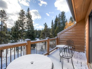 Cedars Townhomes Balcony Ski-in/Ski-Out Breckenridge Lodging