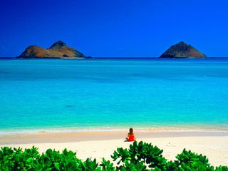 Kailua house photo - There's this one particular harbor...sheltered from the wind.....