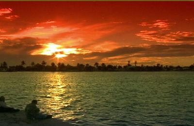 SUNSET OVER WATER WAYS, THIS MAY ARE YOUR DREAM VACATION SPOT IN FLORIDA