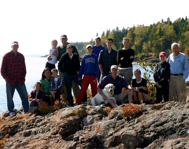 Our family at Lutsen Lakehouse