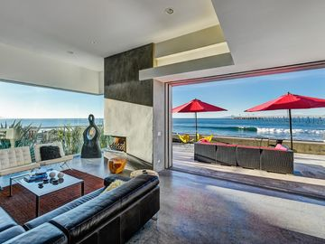 Santa Barbara house rental - Living Area - One of the most exceptional properties on the California coast.