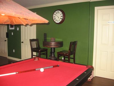 Belfast house rental - Pool Table and Pub Table
