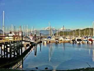 Another view from the Gibsons Marina