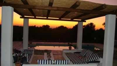 Ostuni farmhouse rental - Pool & Pergola
