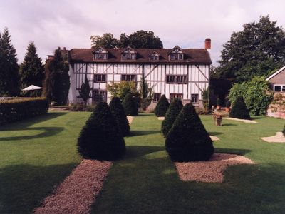 Eardisland house rental - The Manor House and garden