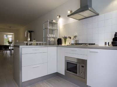 Kitchen and apartment