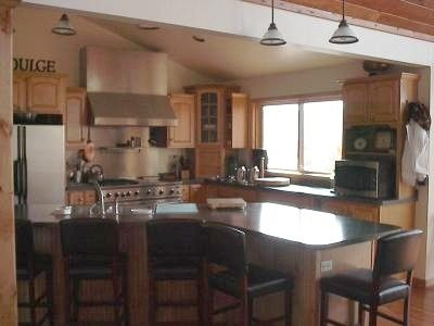 Huge Gourmet Kitchen complete with everything you could ask for!