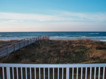 Fort Walton Beach condo rental - This is the ACTUAL view from 202 -Any Closer and you would be on the Beach!
