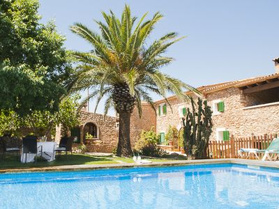 charming stone finca, absolutely quiet location in an enchanting landscape