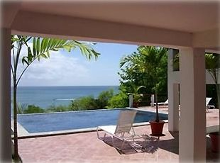 Gros Islet house rental - View of the Caribbean Sea from the Pool Deck